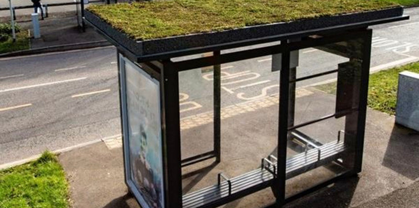 New Environmental Bus Shelters for Sidmouth