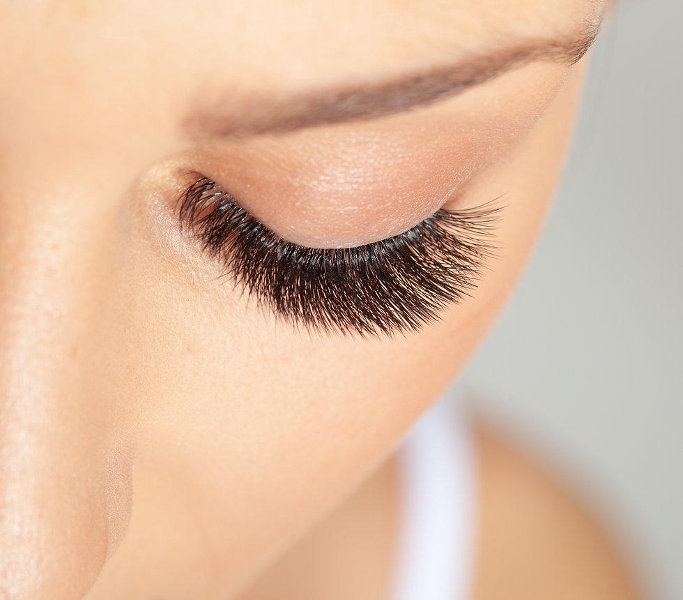 Treatment of Eyelash Extension. Lashes. Woman Eyes with Long Eyelashes._edited.jpg