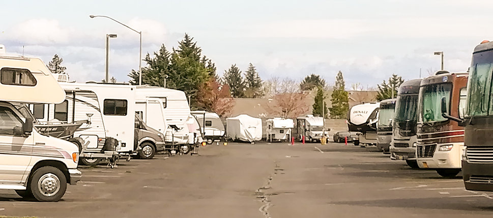 RV Storage Lot