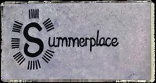 A hand drawn Summerplace Logo