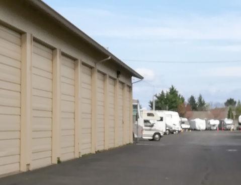 RV garage storage