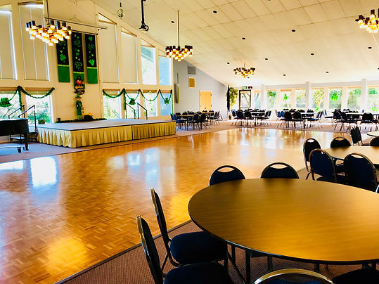 Clubhouse Ballroom showing the large dance floor