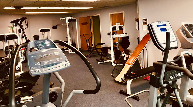 Qur well-equipped fitness rooms