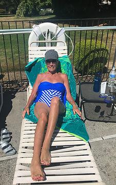 Catching the Sun around the Pool