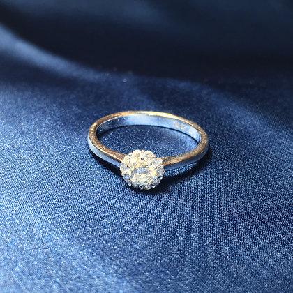 Floral Diamond Ring
