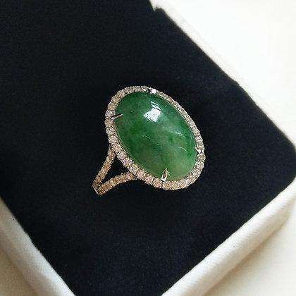 Jade, Diamond Ring