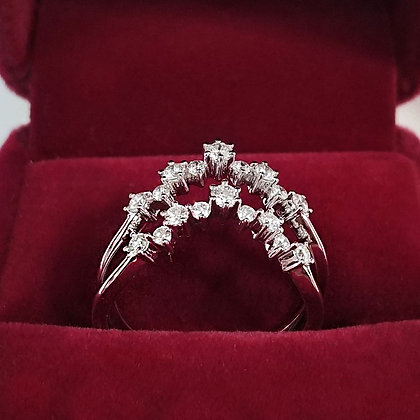 Twins Diamond Ring