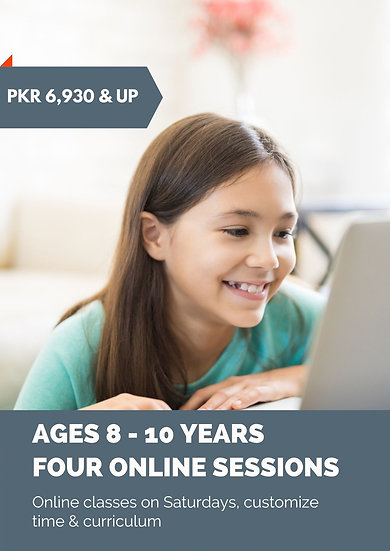Online Coding Classes: ages 8-10 years