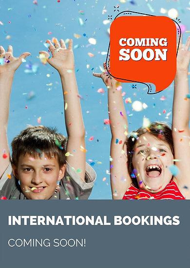 International Classes - starting soon