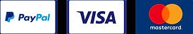 Paypal /  Visa / Mastercard