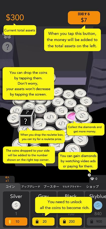 Idle Coins Cómo jugar
