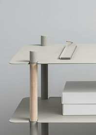 Metal Wooden Stand