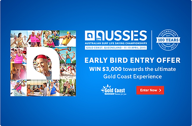 Aussies 2015 - Early Bird Entry Offer