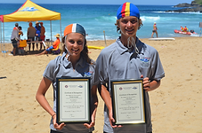 2014-15 South Coast Branch JLOY Winners, Brook Cavanagh, Warilla-Barrack Point & Liam Farrer, Shellharbour SLSC