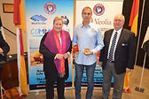 Lifesaver of the Year Dean Boyton with A