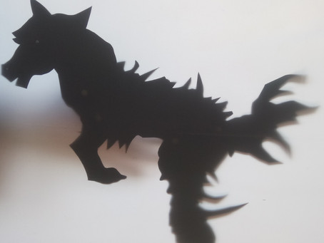 Writing Shadows - a brilliant day