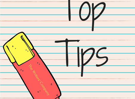 Creative Writing Top Tips
