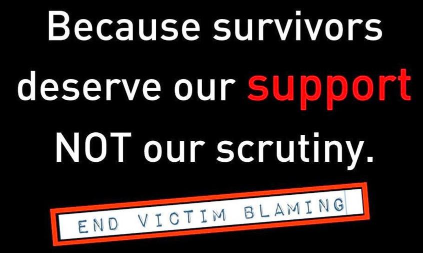 STOP VICTIM BLAMING!