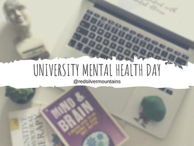 University Mental Health Day.