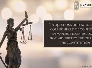 Constitutionalism vis-à-vis Separation of Power