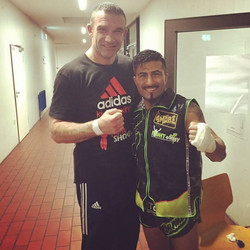 Lumberjack Peter Aerts living Legend and me Juni 2016__#peter_aerts #K1 #muay_thai #dortmund #fighto