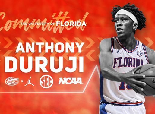 Anthony Duruji Talks About Transfer to Florida and College Career