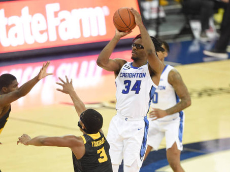 Creighton bounces back from consecutive losses in ranked clash against Connecticut