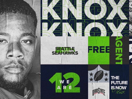 Seattle Seahawks sign Ohio State offensive lineman Demetrius Knox to undrafted free agent contract
