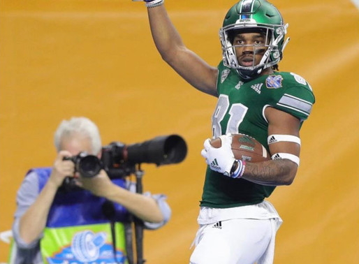 Interview with Eastern Michigan wide receiver Quian Williams