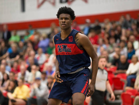 Former Ole Miss PF Carlos Curry is making the most out of his time at Northwest Mississippi CC