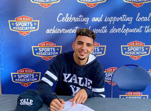 Four star point guard Yassine Gharram signs National Letter of Intent to Yale