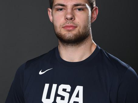 Center Hunter Dickinson discuses his USA Basketball experience