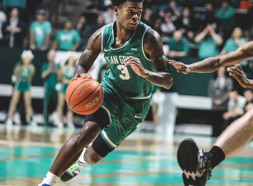 Conference USA Player of the Year Javion Hamlet reflects on impressive first year with North Texas