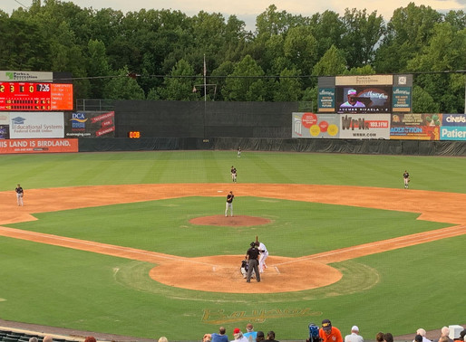Baysox Fail to Hold on to Early Lead in Loss to the RubberDucks