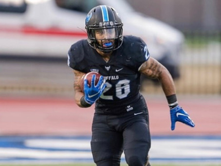 From a two-star recruit to one of the best running backs in college football: Jaret Patterson