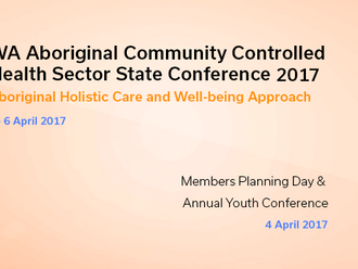 AHCWA Wraps up Successful State Sector Conference