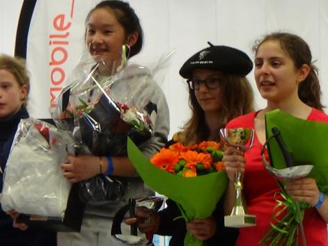 Challenge de France Benjamin - Stella sur le podium :)
