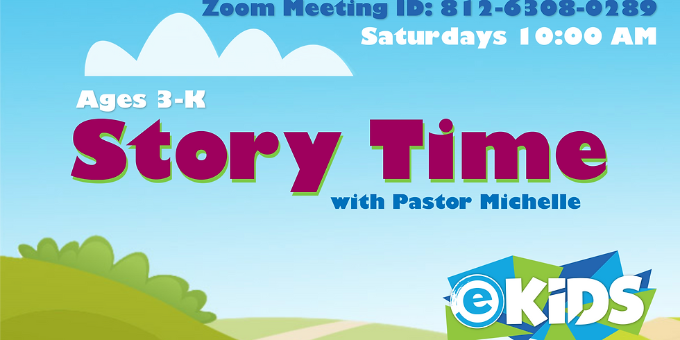 Story Time with Ps Michelle (Ages 3-K)