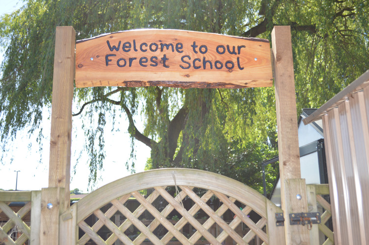 Forest School Entrance