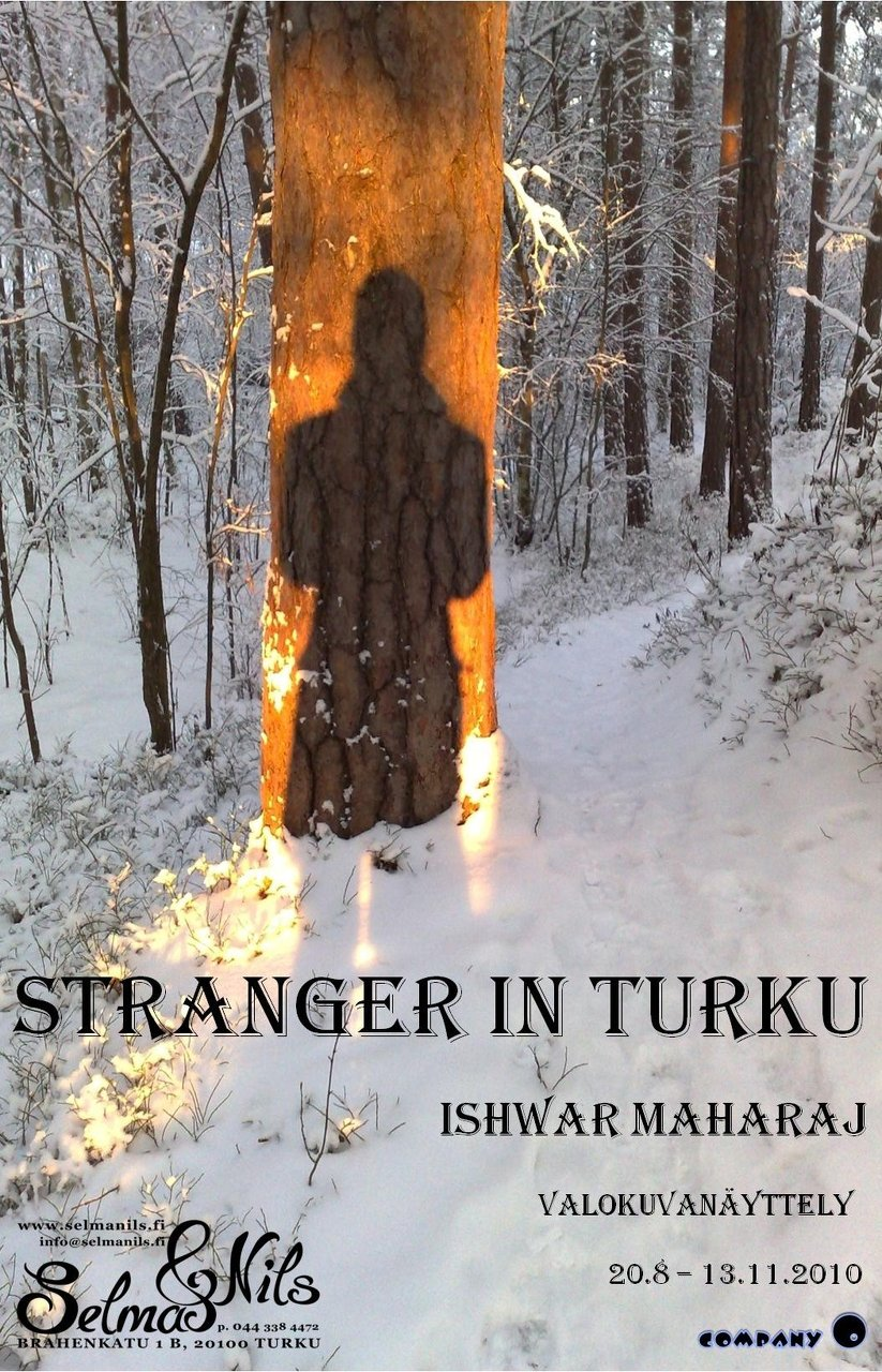 stranger in turku exhibition poster