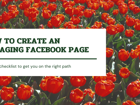 10 step checklist for creating an engaging Facebook Page