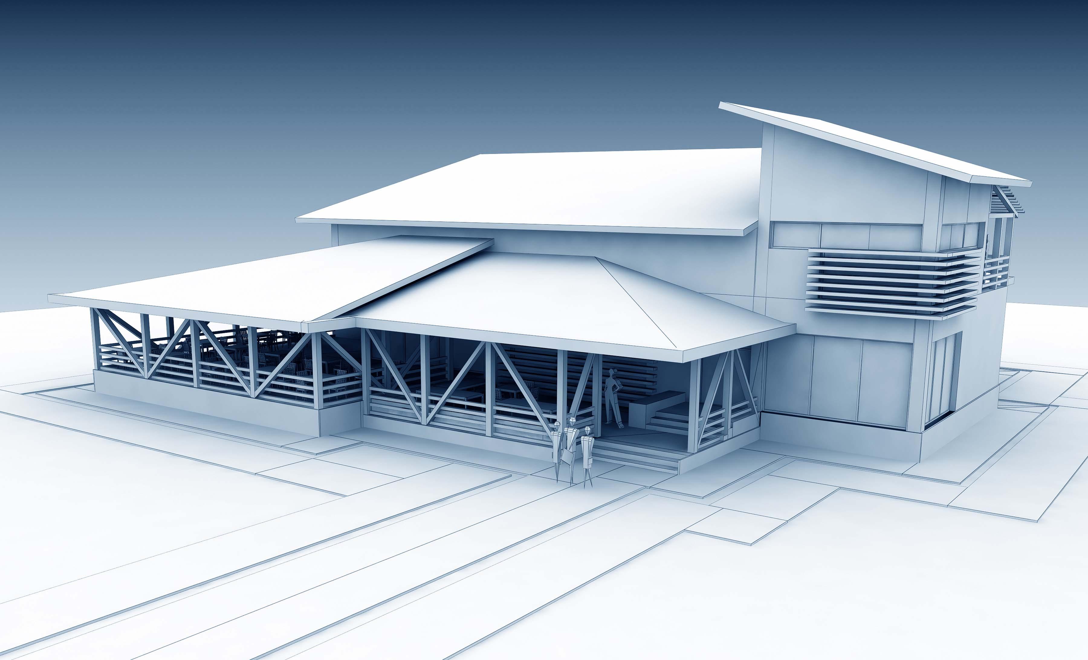 CGI building