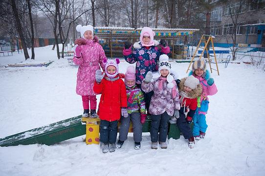 прогулка детский сад