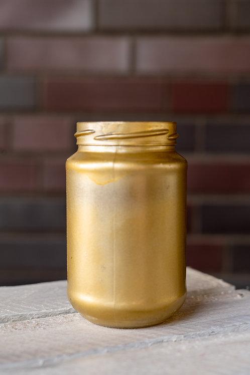 Kerzenglas gold
