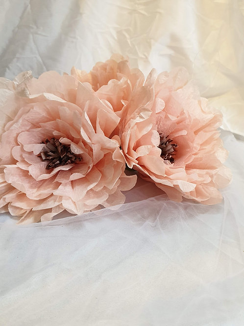 Deko Blumen rosa