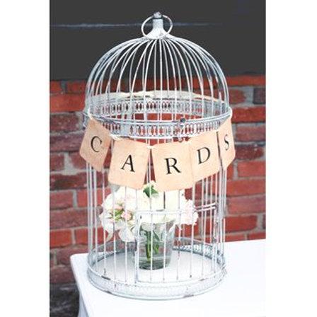 Kartenbox Vogelkäfig