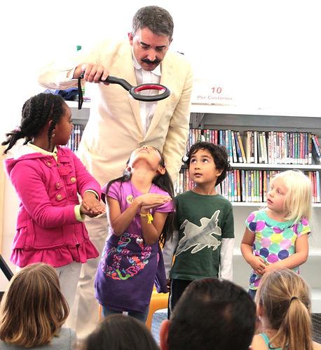 Ash K. Magician, Reading Minds at Librar