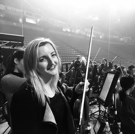 Caroline Violinist on Tour