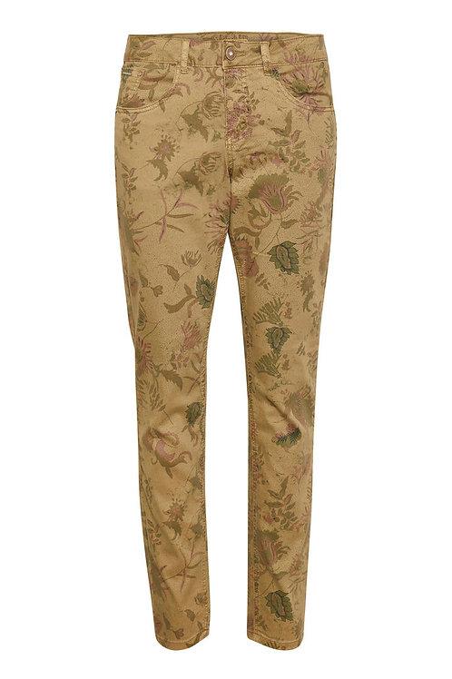 Pantalon imprimé Cream 10607823