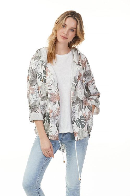 Jacket à capuchon 6166-032B